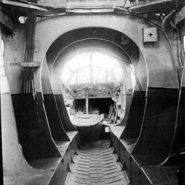11.Грузовая кабина БДП-2.
