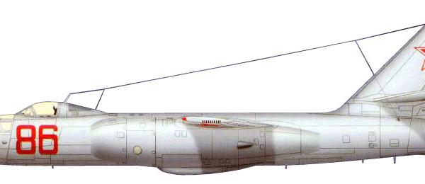 11.Ил-28У. Рисунок.
