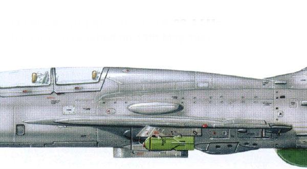 11.МиГ-21У ВВС ГДР. Рисунок.