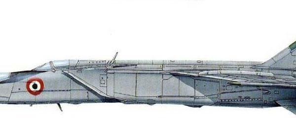 11.МиГ-25РУ ВВС Индии. Рисунок.