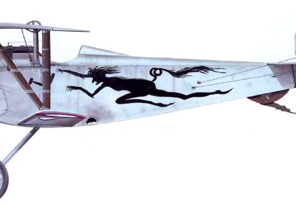 11.Nieuport N.24bis РИВВФ. Рисунок.