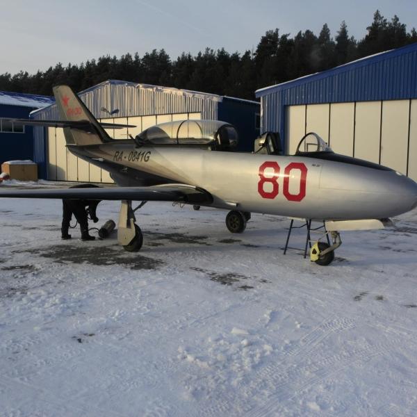 11.Восстановленный Як-30.