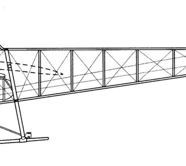 12.Nieuport-IV. Компоновочная схема