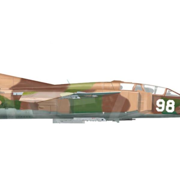 13.МиГ-23УБ ВВС Казахстана. Рисунок.