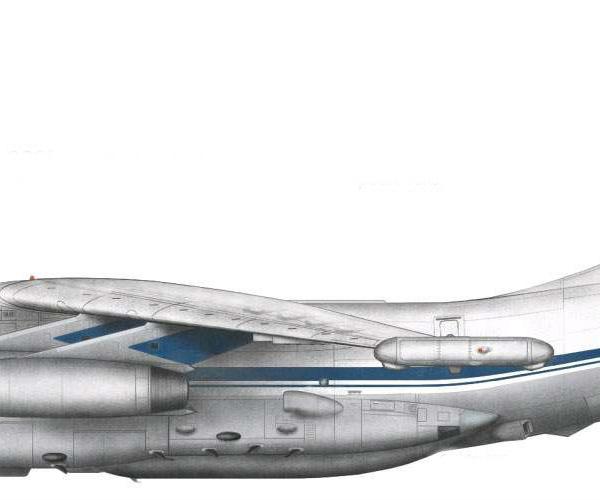14.Ил-76 МД. Рисунок.