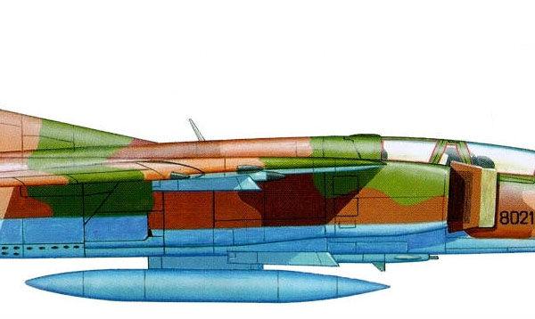 14.МиГ-23УБ ВВС Ливии. Рисунок.