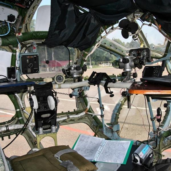 15.Кабина штурмана Ан-30.