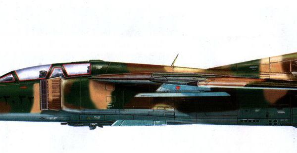 15.МиГ-23УБ ВВС Ирака. Рисунок.
