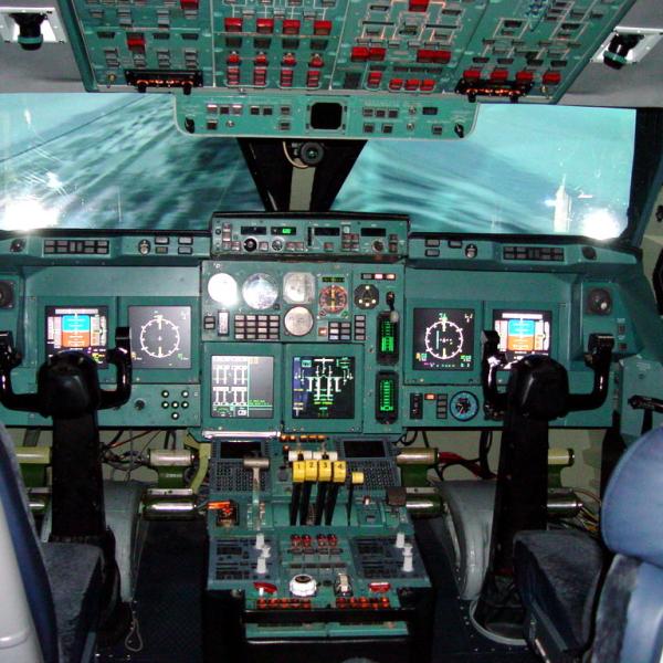 15б.Кабина Ил-96-300.