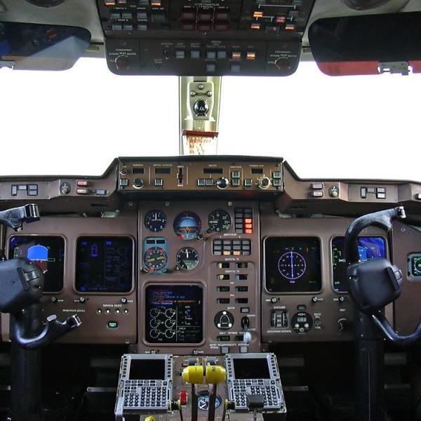 17.Приборная панель кабины Ил-114.