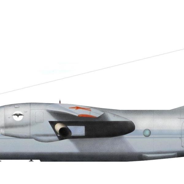 18.Ан-30Б ВВС России. Рисунок.