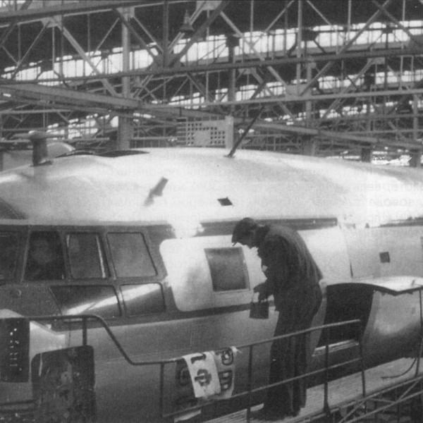 18.Сборка Ил-14. 1950 г.