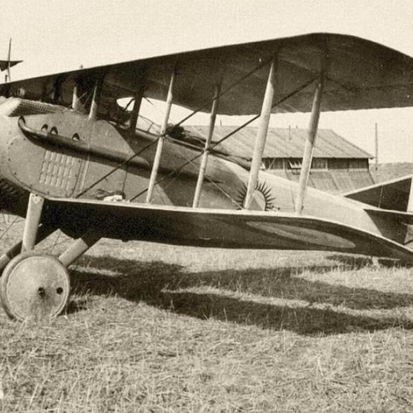 1а.Истребитель SPAD S.VII.