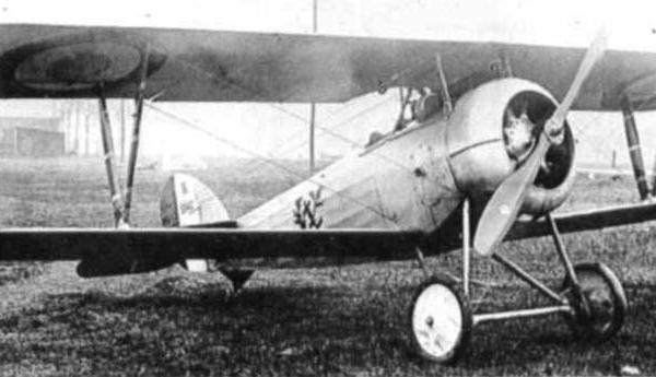 1а.Nieuport N.24 ВВС Франции.