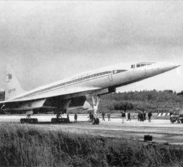 1а.Ту-144Д (борт № 77114), установивший рекорды под наименованием 101.