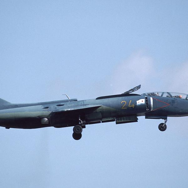 1а.Як-38У на вертикальном взлете.