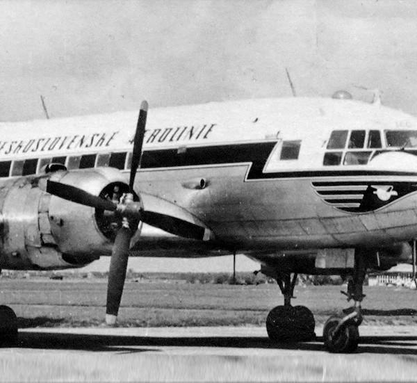1г.Чехословатский АВИА-14 (Ил-14П). 1