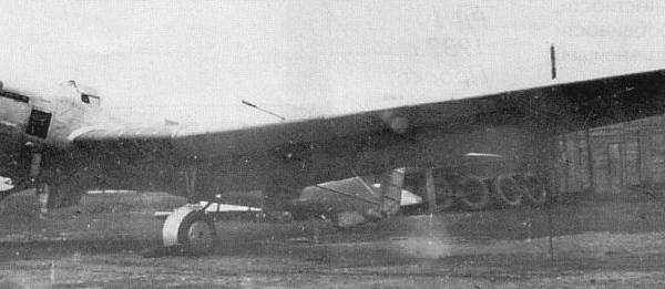 2.АНТ-25-1 с обтекателями на стойках шасси.