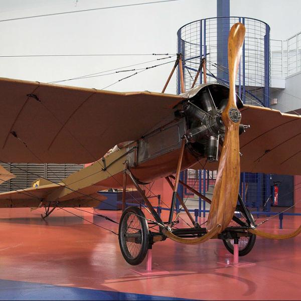 2.Deperdussin В-одноместный в музее Ле Бурже.