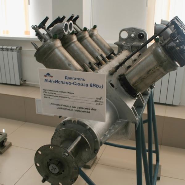 2.Двигатель М-4 в музее ВВС Монино..jpeg