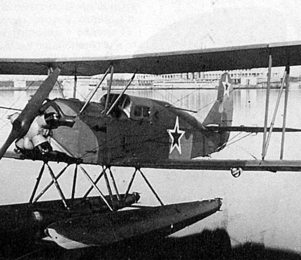 2.Гидросамолет По-2ЛП.