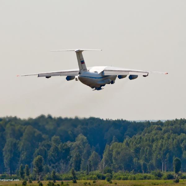 2.Ил-78М после взлета.