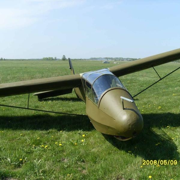 2.КАИ-12 (Приморец) Учебно-тренировочный планер. 2