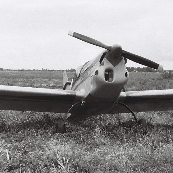 2.Легкий самолет Арго-02 на слете СЛА-89.