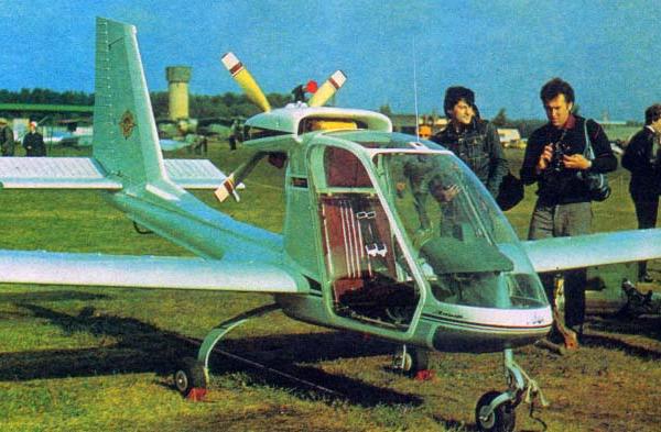 2.Легкий самолет Эльф.