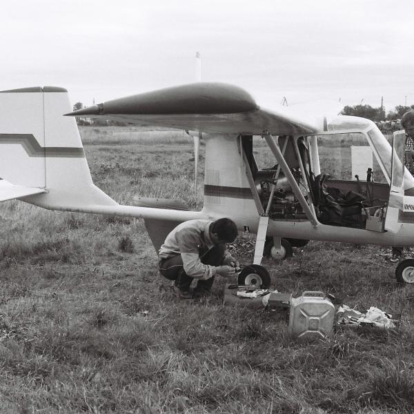2.Легкий самолет Оптимист. СЛА-89. Рига, 1989 г..