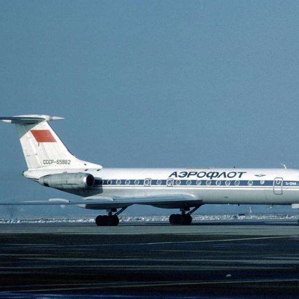 2.Ту-134А Аэрофлота