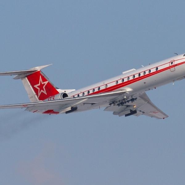 2.Ту-134Ш-1 после взлета.