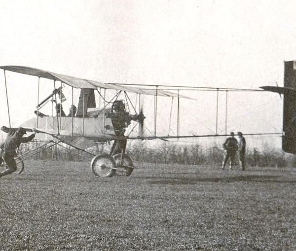 2.Voisin LA в ВВС Франции.