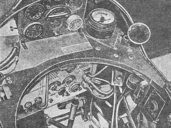 22.Оборудование штурманской кабины АНТ-25