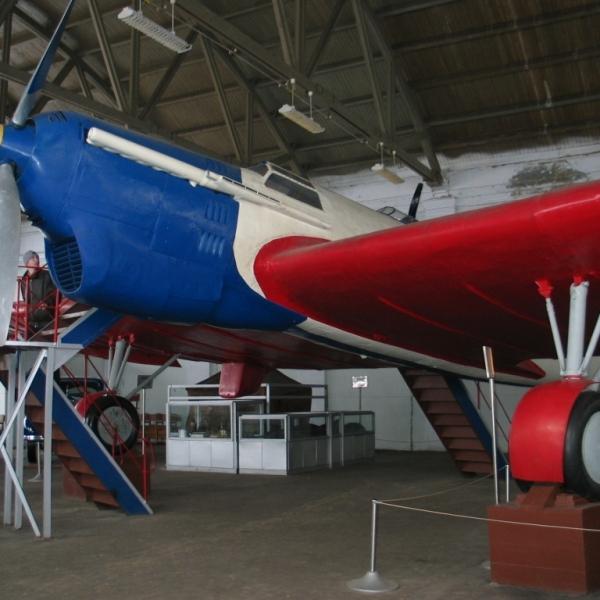 25.Самолет АНТ-25 в музее Чкалова.