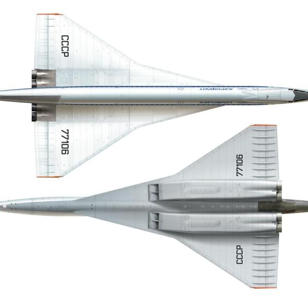 26.Ту-144. Рисунок 4