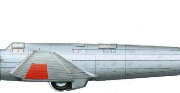 27.Опытный самолет РД-1 (1933 г.) Рисунок