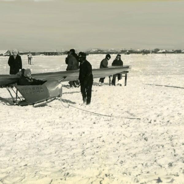 2а.Полеты на КАИ-11. Москва, аэродром Чертаново. Декабрь 1966 г.