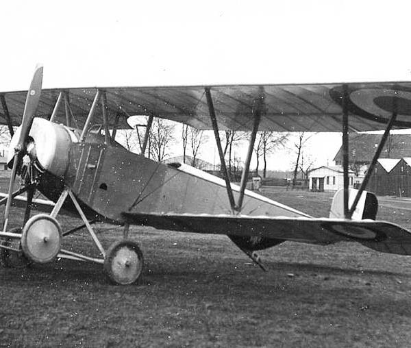 2г.Учебный самолет Nieuport 82 E2.