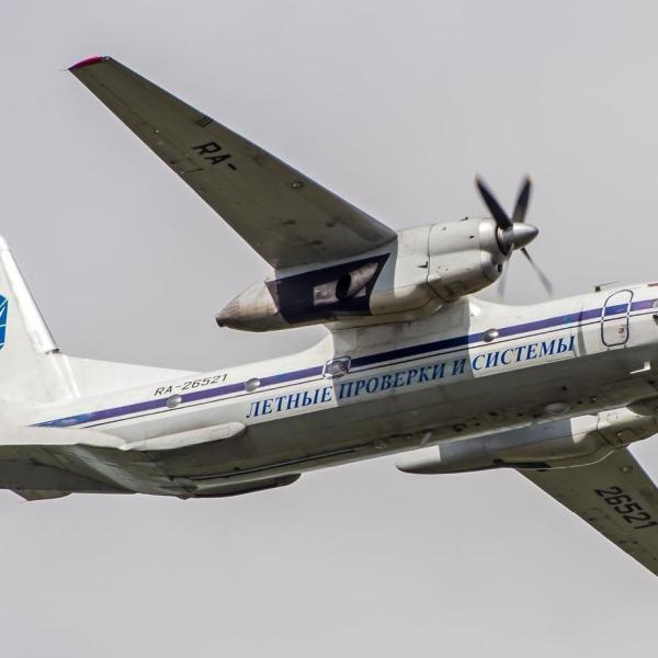 3.Ан-26КПА в полете.