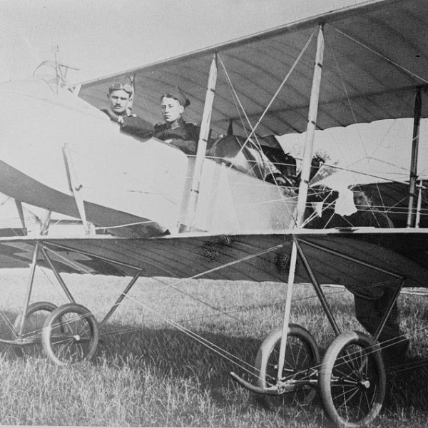 3.Farman F.XX ВВС Швейцарии.