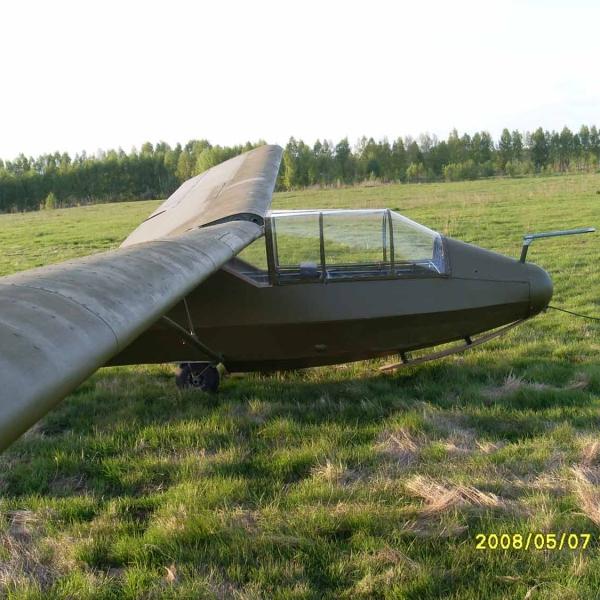 3.КАИ-12 (Приморец) Учебно-тренировочный планер. 3