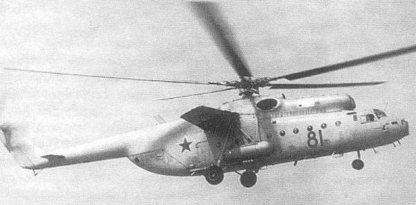 3.Ми-6ВзПУ (Ми-22) в полете.