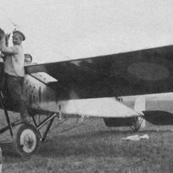 3.Morane G русской авиации.