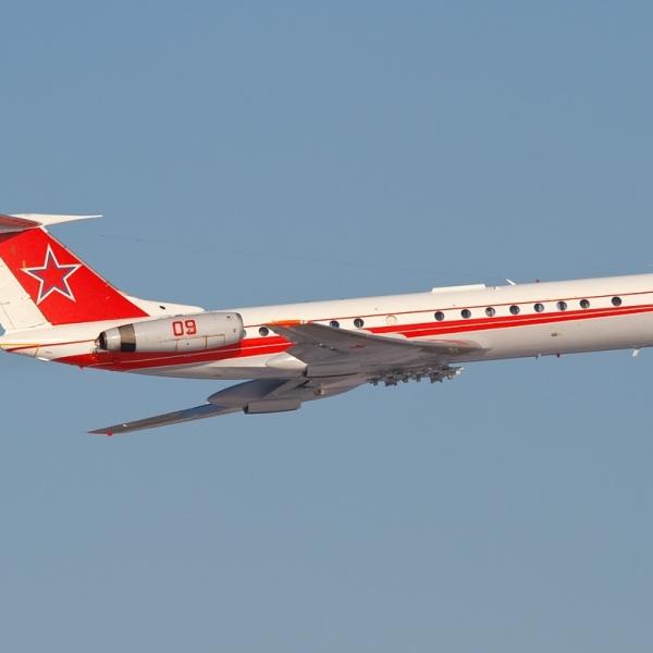 3.Ту-134Ш-1 в полете.