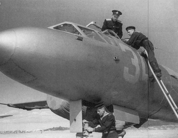 3.Вид на кабину Ил-28У