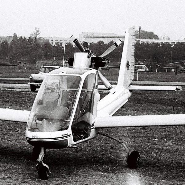 3б.Самолет Эльф на СЛА-87.