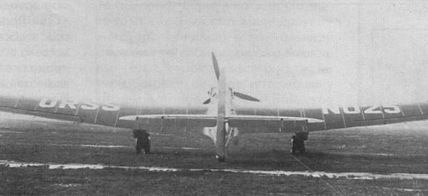 3г.Доработанный АНТ-25-2. Вид сзади.