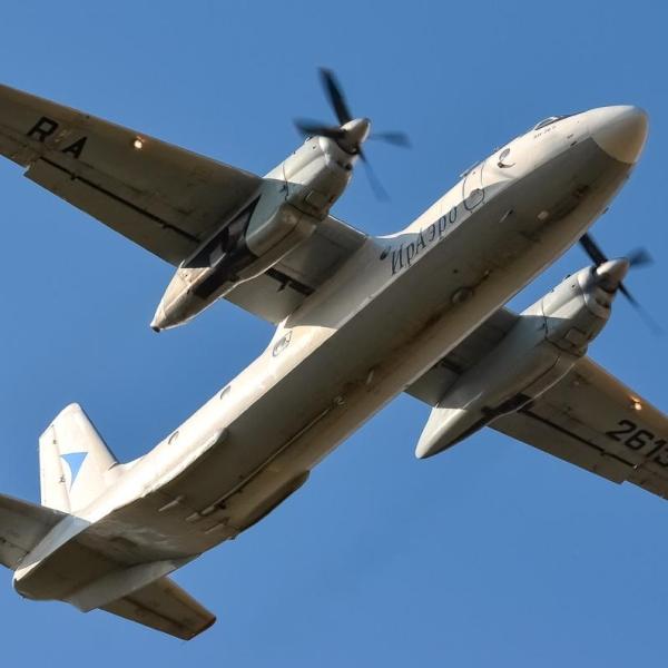 4.Ан-26Б в полете.