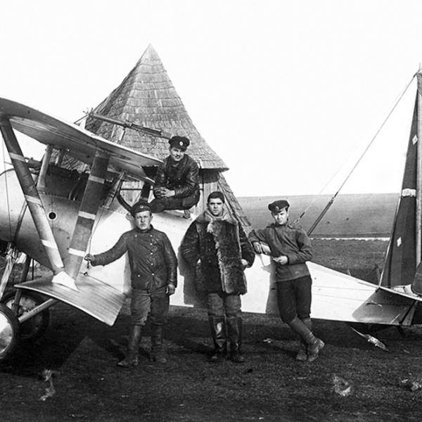 4.Истребитель Nieuport N.17. Предположительно из состава 7 аои. 1916-17 гг.